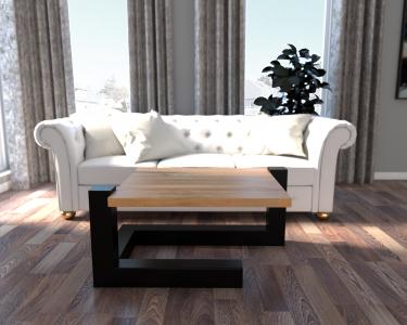 RENA loftowy stolik kawowy